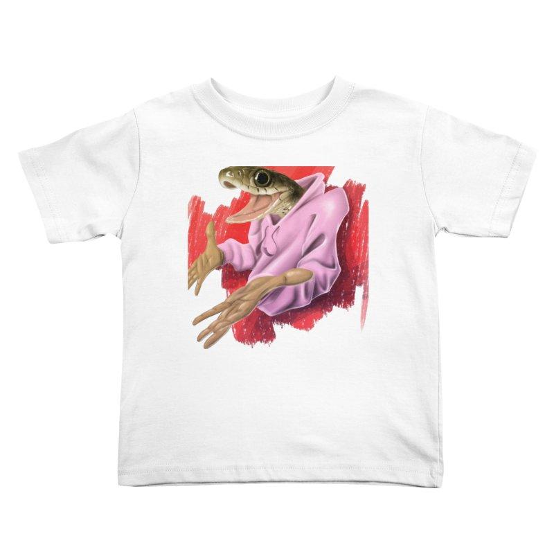 HAPPY ONE! Kids Toddler T-Shirt by mushroom's Artist Shop