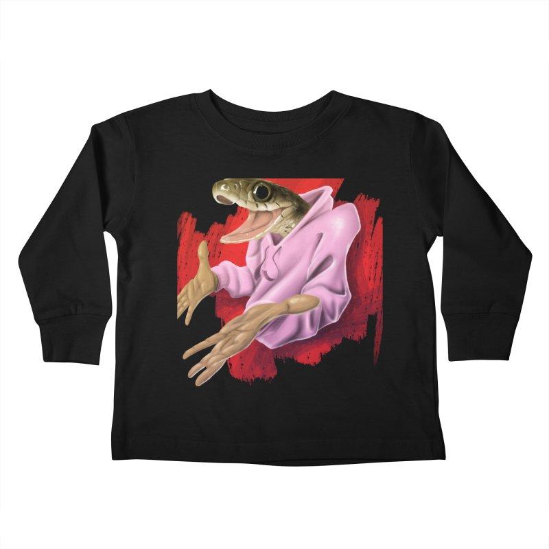 HAPPY ONE! Kids Toddler Longsleeve T-Shirt by mushroom's Artist Shop
