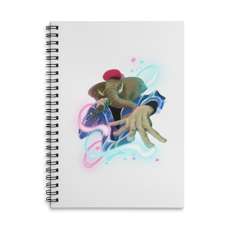 THE ELESWAG Accessories Lined Spiral Notebook by mushroom's Artist Shop