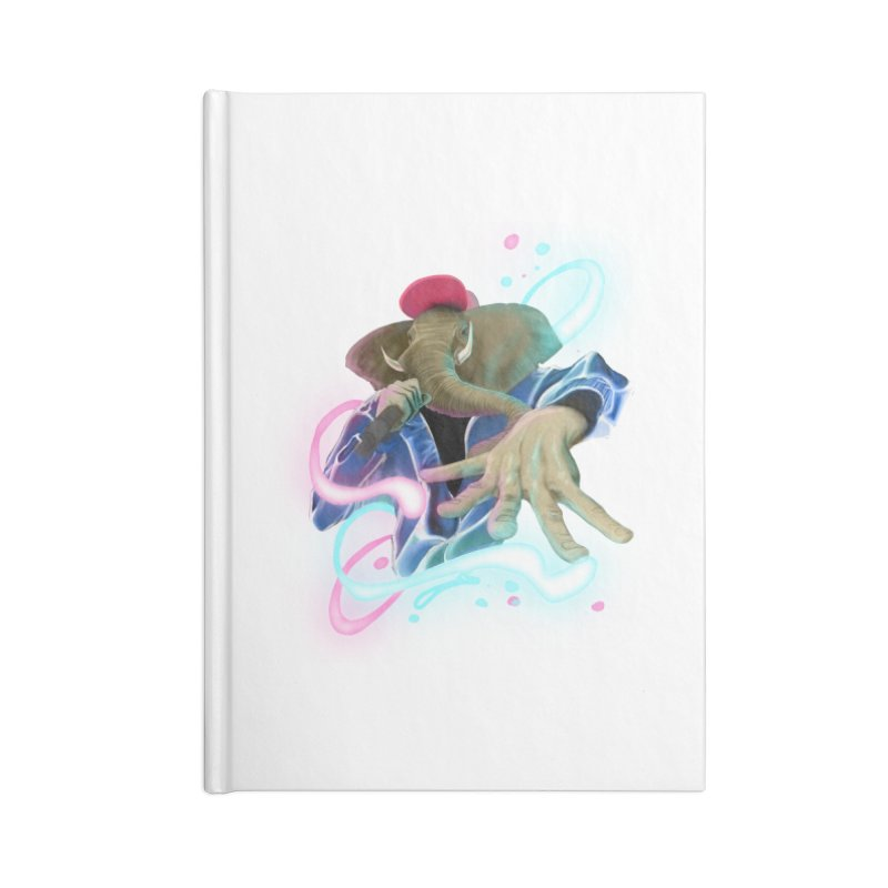 THE ELESWAG Accessories Lined Journal Notebook by mushroom's Artist Shop