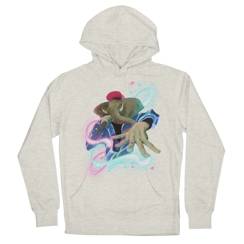 THE ELESWAG Women's French Terry Pullover Hoody by mushroom's Artist Shop