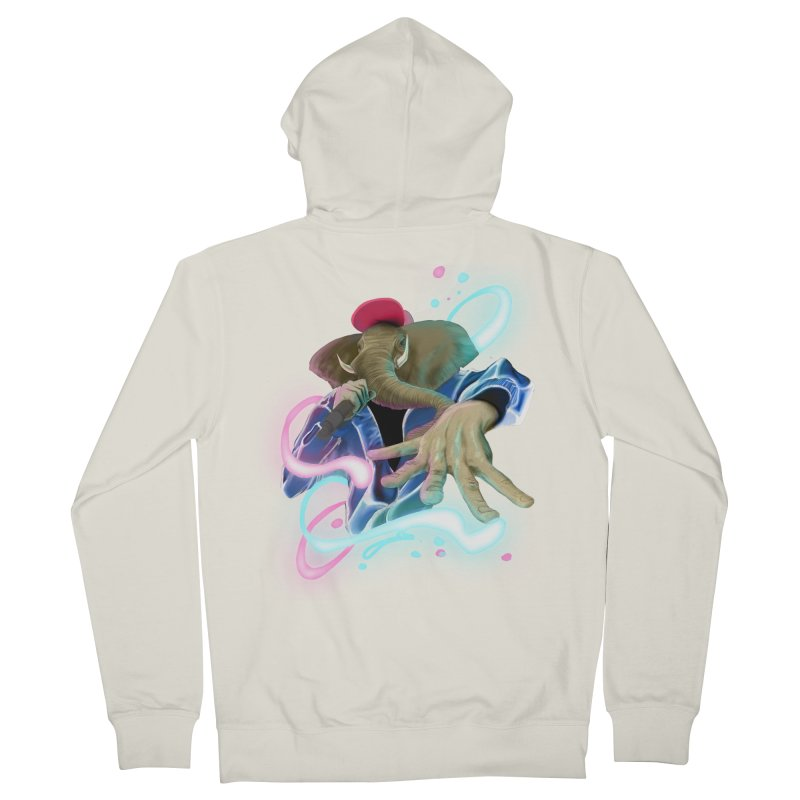 THE ELESWAG Men's French Terry Zip-Up Hoody by mushroom's Artist Shop