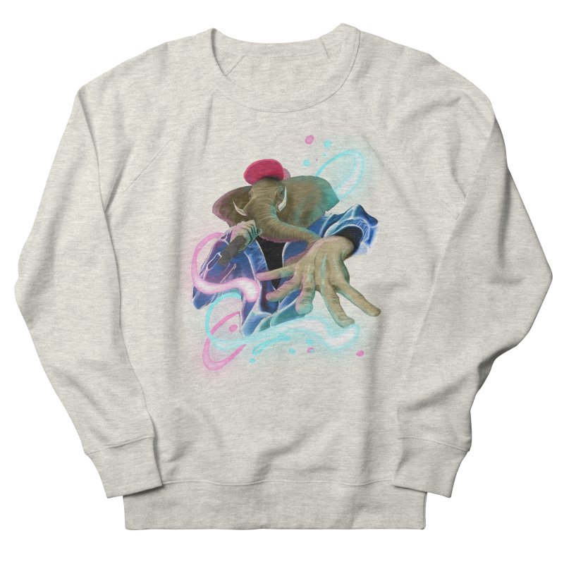 THE ELESWAG Women's French Terry Sweatshirt by mushroom's Artist Shop