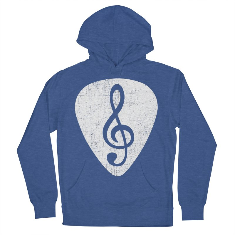 Guitar Pick Women's Pullover Hoody by musica