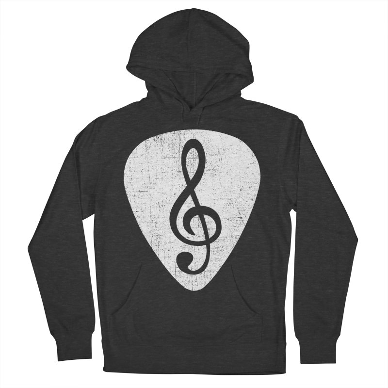 Guitar Pick Men's Pullover Hoody by musica