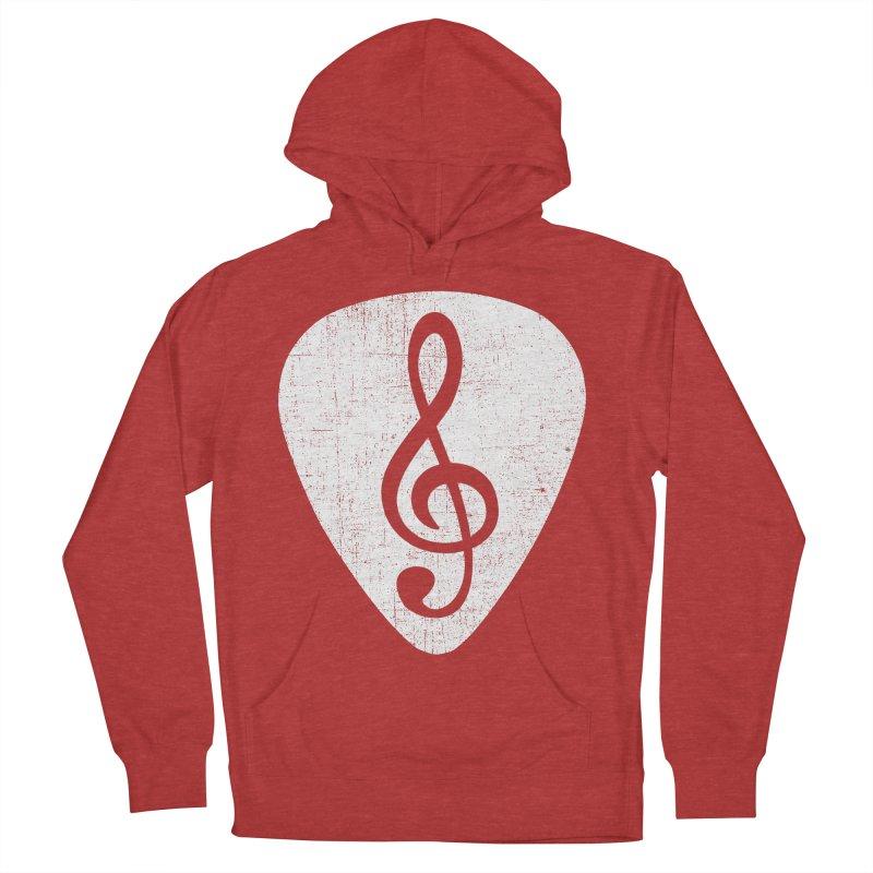 Guitar Pick Men's Pullover Hoody by musica