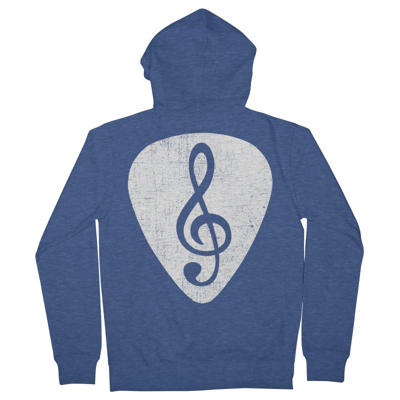 Guitar Pick Women's Zip-Up Hoody by musica