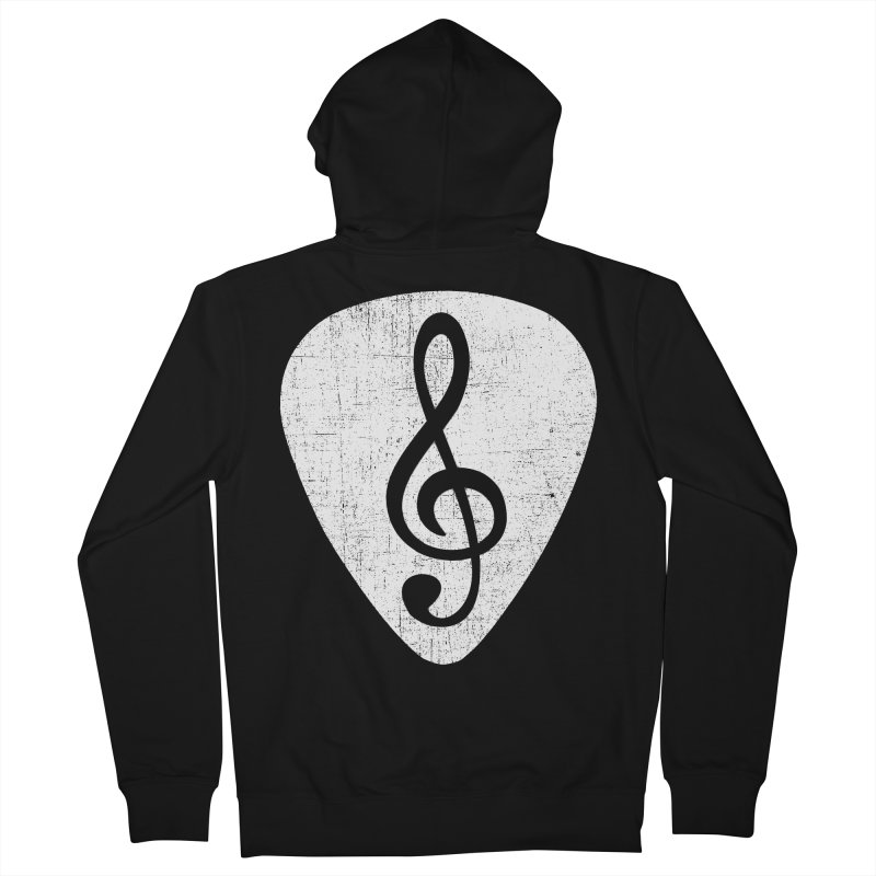 Guitar Pick Men's Zip-Up Hoody by musica