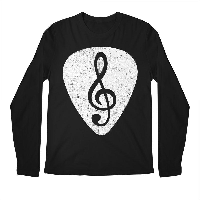 Guitar Pick Men's Longsleeve T-Shirt by musica
