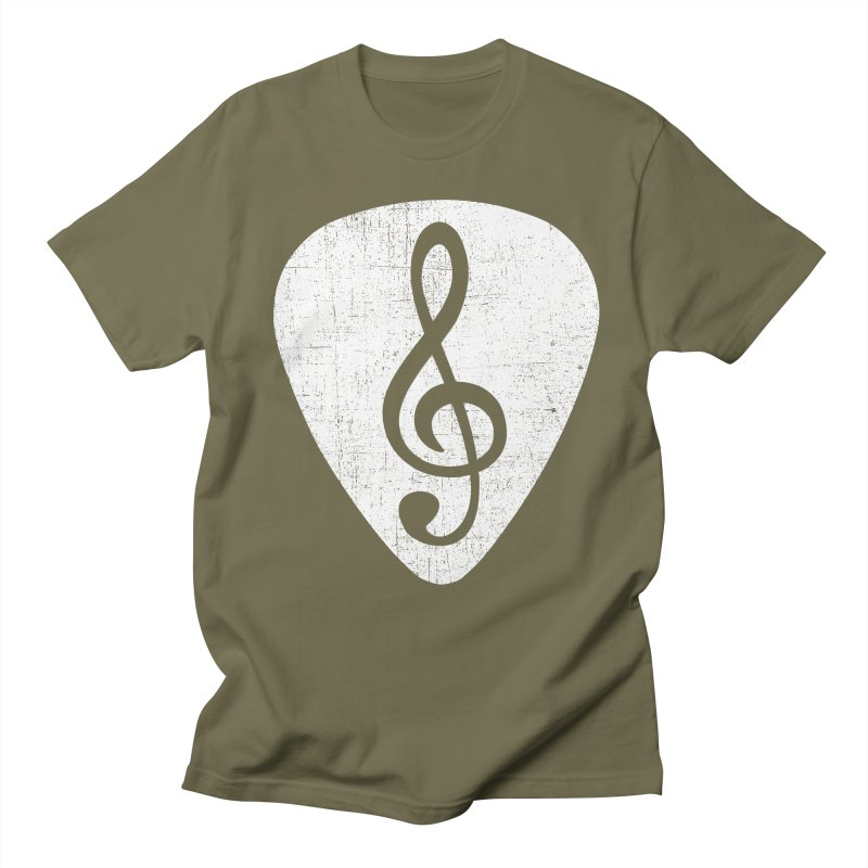 Guitar Pick Men's T-shirt by musica