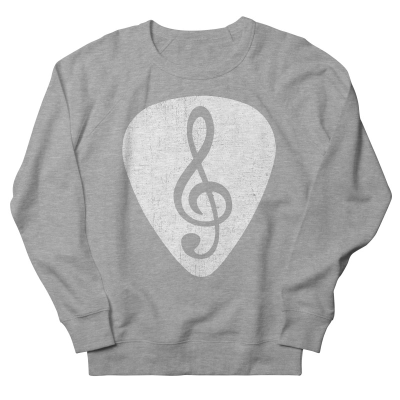 Guitar Pick Women's Sweatshirt by musica