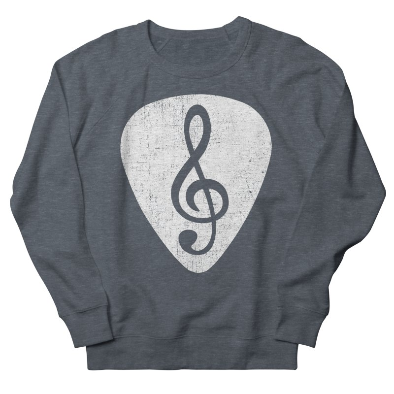 Guitar Pick Men's Sweatshirt by musica
