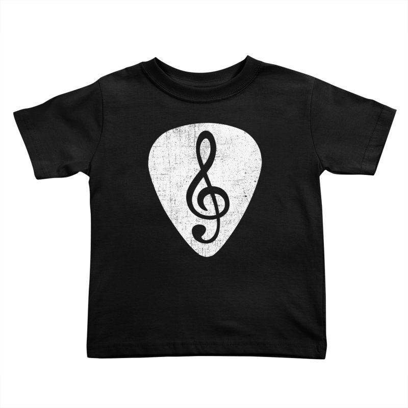 Guitar Pick Kids Toddler T-Shirt by musica