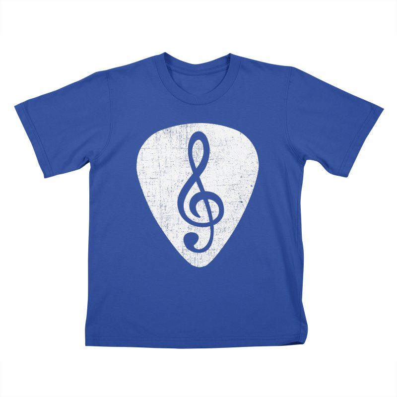 Guitar Pick Kids T-Shirt by musica