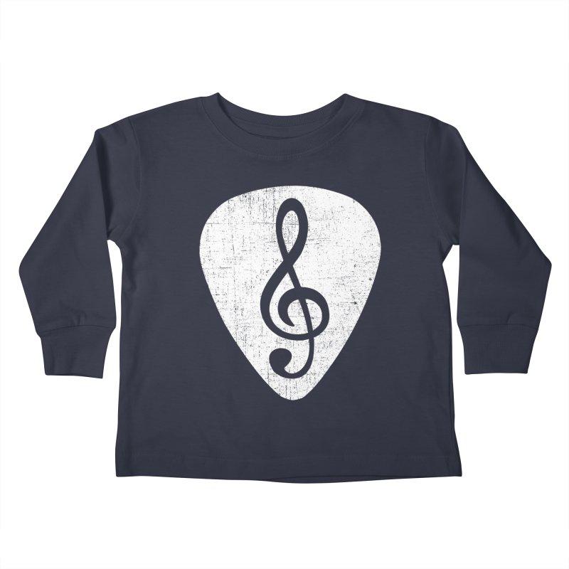 Guitar Pick Kids Toddler Longsleeve T-Shirt by musica
