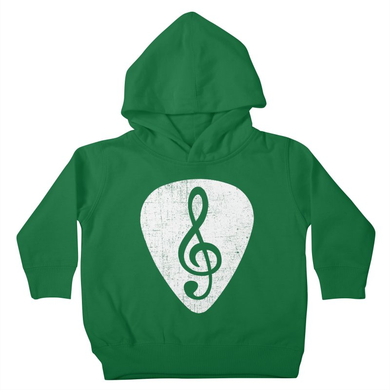 Guitar Pick Kids Toddler Pullover Hoody by musica