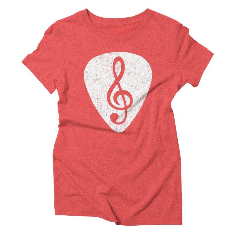 Guitar Pick Women's Triblend T-shirt by musica