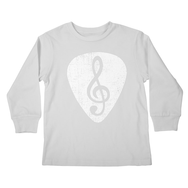 Guitar Pick Kids Longsleeve T-Shirt by musica