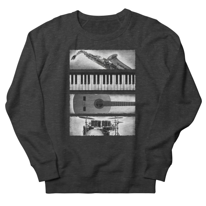 Music Elements Men's Sweatshirt by musica