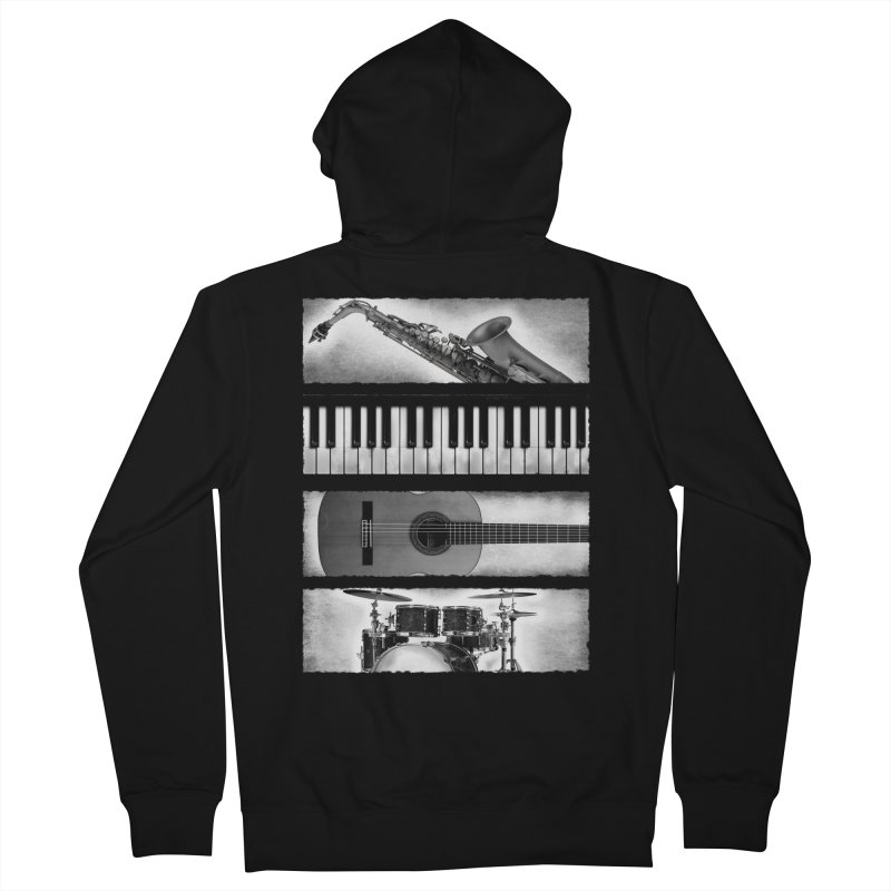 Music Elements Men's Zip-Up Hoody by musica