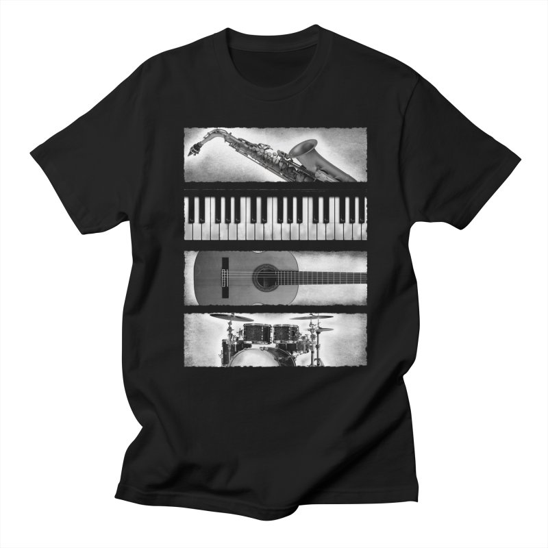 Music Elements Men's T-shirt by musica