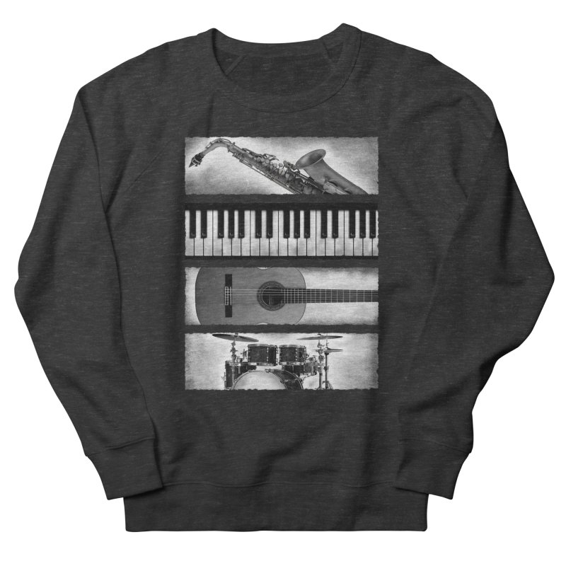 Music Elements Men's Sweatshirt by musica
