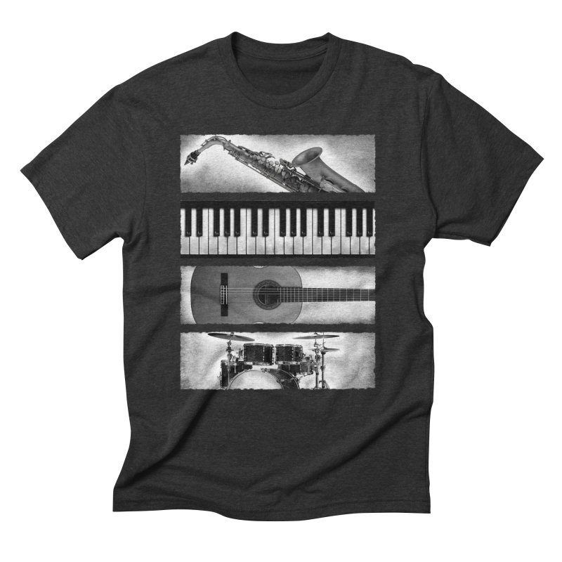 Music Elements Men's Triblend T-Shirt by musica