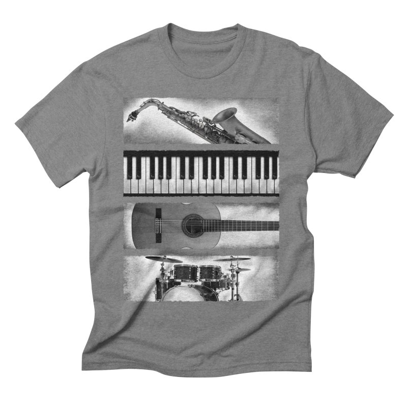 Music Elements Men's Triblend T-shirt by musica