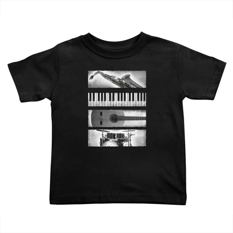 Music Elements Kids Toddler T-Shirt by musica