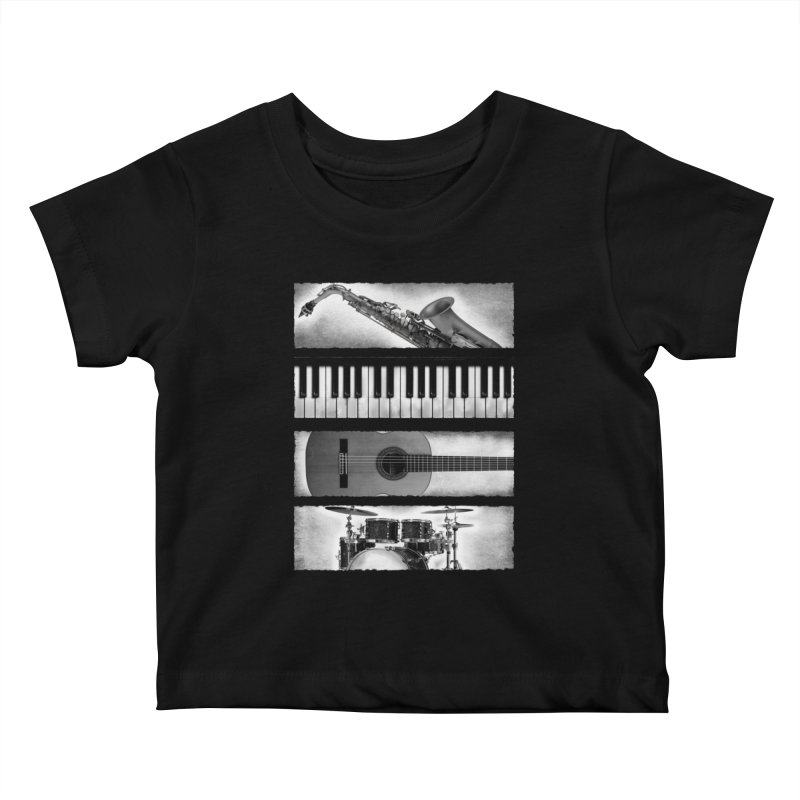 Music Elements Kids Baby T-Shirt by musica