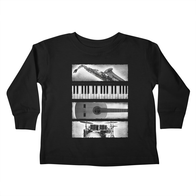 Music Elements Kids Toddler Longsleeve T-Shirt by musica