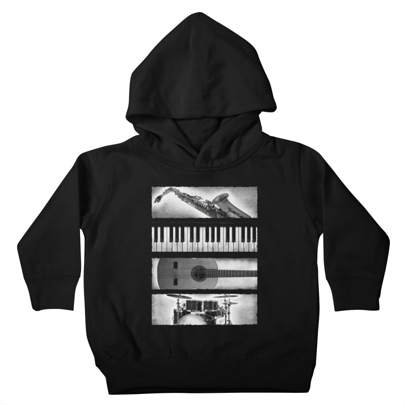 Music Elements Kids Toddler Pullover Hoody by musica