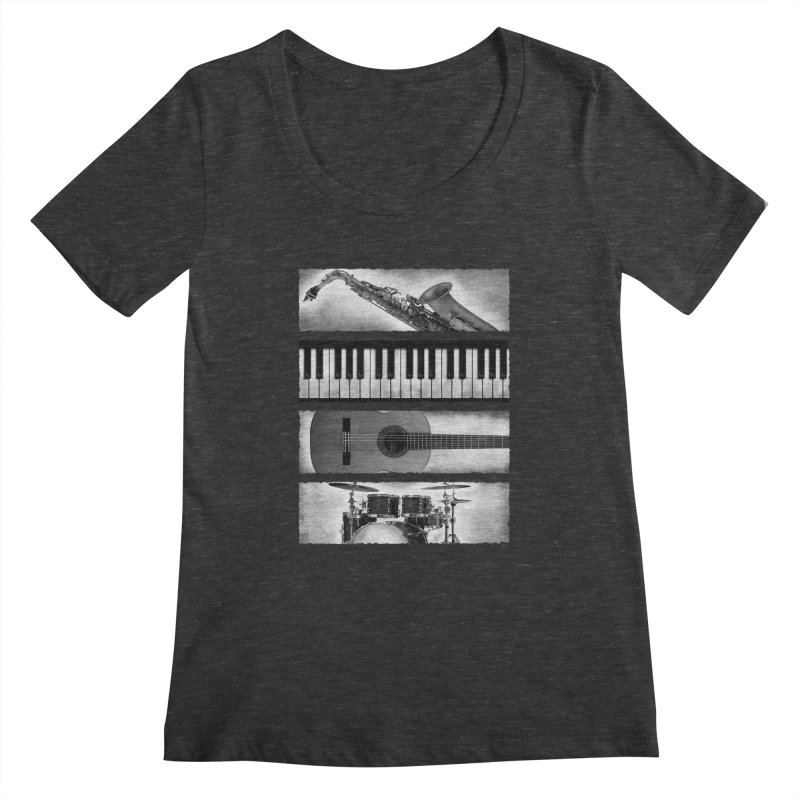 Music Elements Women's Scoopneck by musica