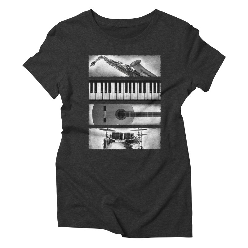 Music Elements Women's Triblend T-Shirt by musica
