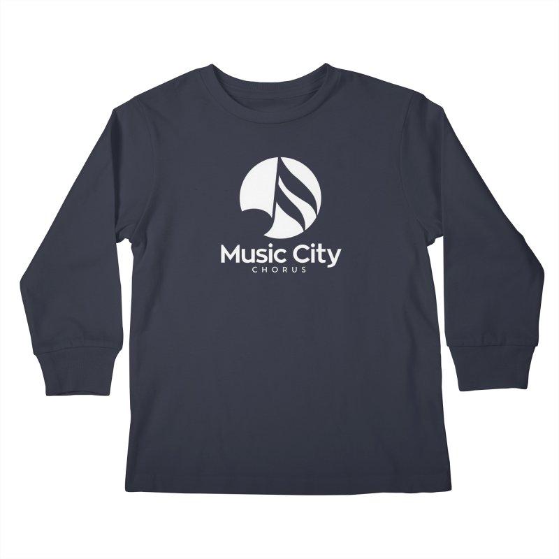 Music City Chorus Kids Longsleeve T-Shirt by Music City Chorus