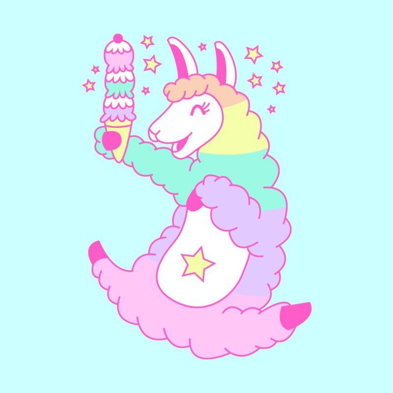 Rainbow Llama by Tamara Lance