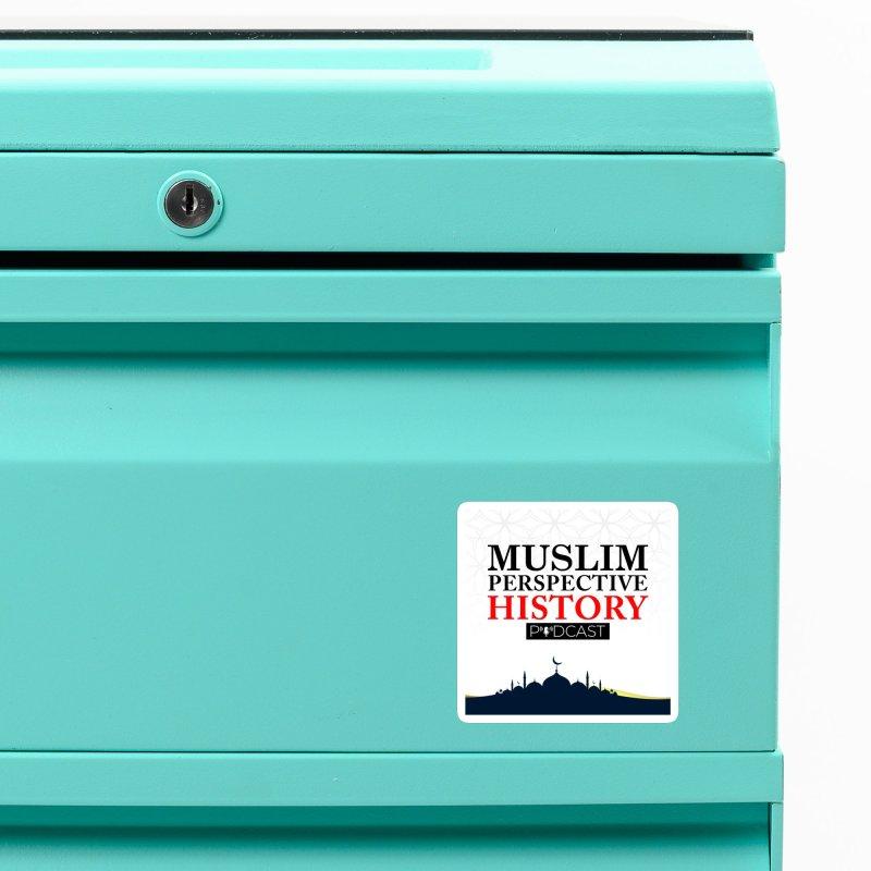 Muslim Prespective History Podcast Logo Accessories Magnet by muslim perspective history podcast store