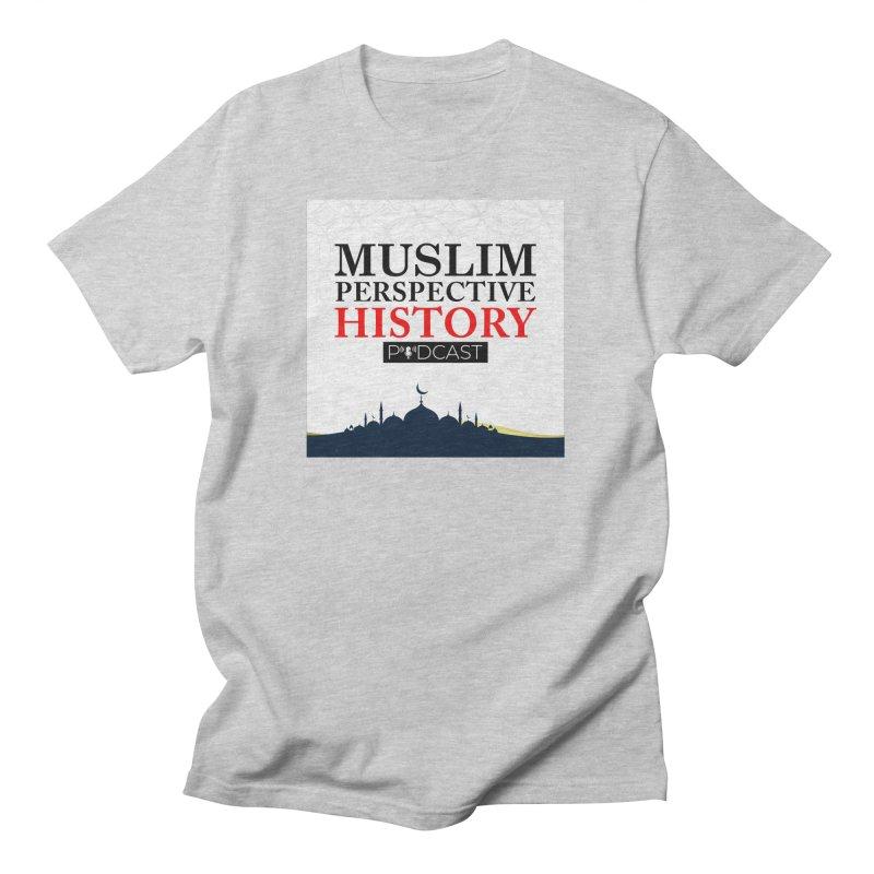 Muslim Prespective History Podcast Logo Men's T-Shirt by muslim perspective history podcast store