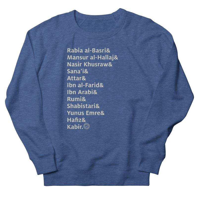 Love Me Some Muslim Poetry in Men's Sweatshirt Heather Royal by Rahim Snow