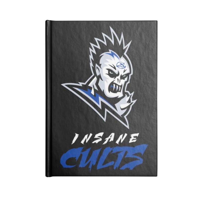 MFL Insane Cults journal Accessories Blank Journal Notebook by Mutant Football League Team Store