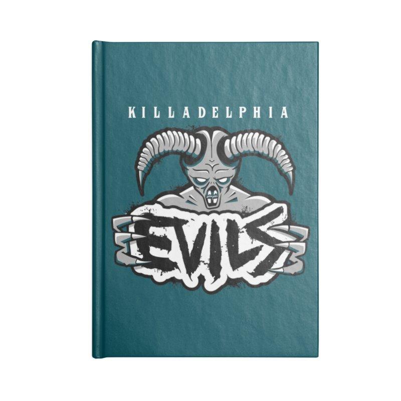 MFL Killadelphia Evils journal Accessories Notebook by Mutant Football League Team Store