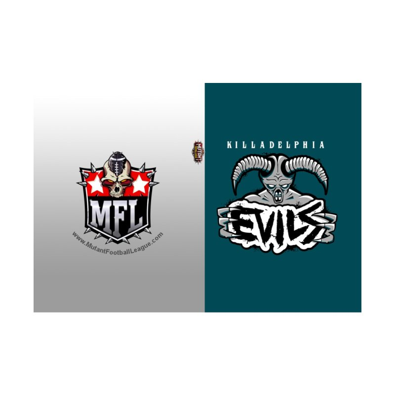 MFL Killadelphia Evils journal by Mutant Football League Team Store