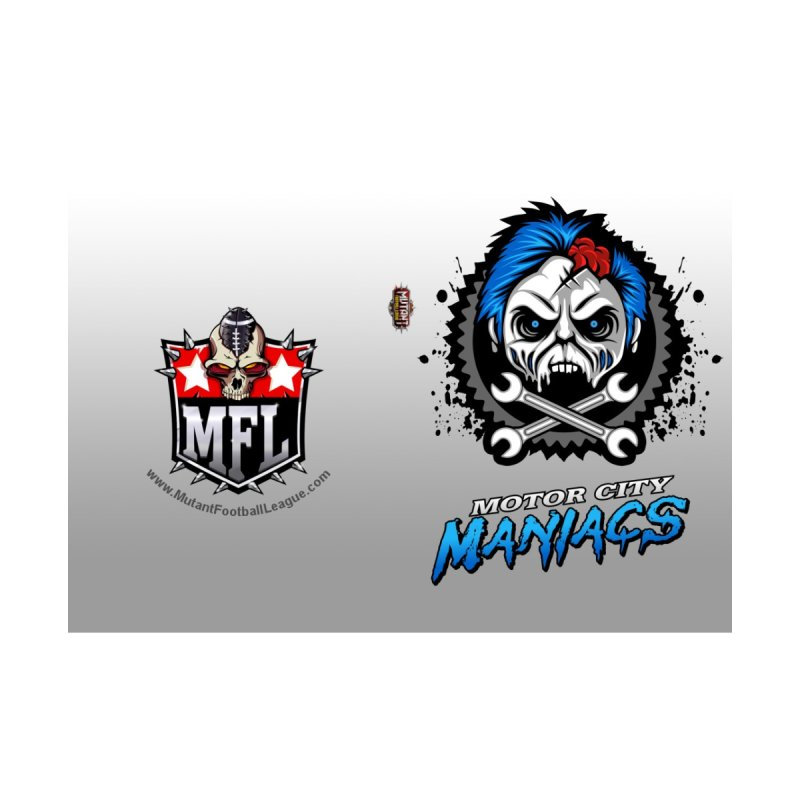 MFL Motor City Maniacs journal Accessories Notebook by Mutant Football League Team Store