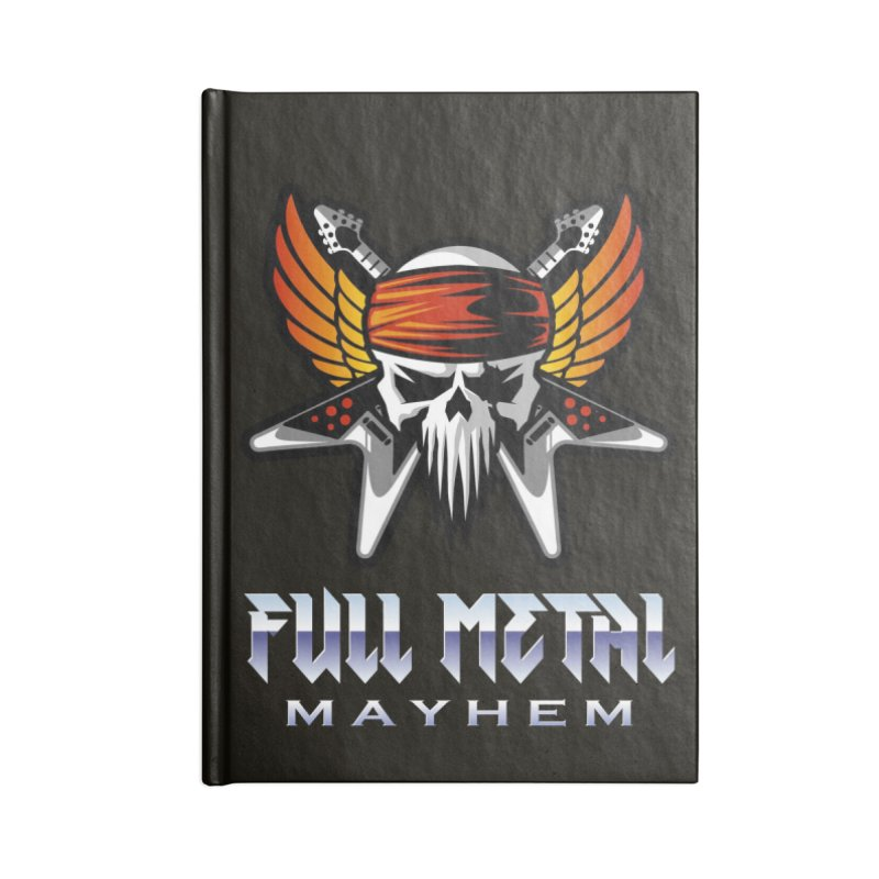 MFL Full Metal Mayhem journal Accessories Lined Journal Notebook by Mutant Football League Team Store