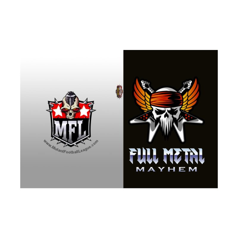 MFL Full Metal Mayhem journal by Mutant Football League Team Store