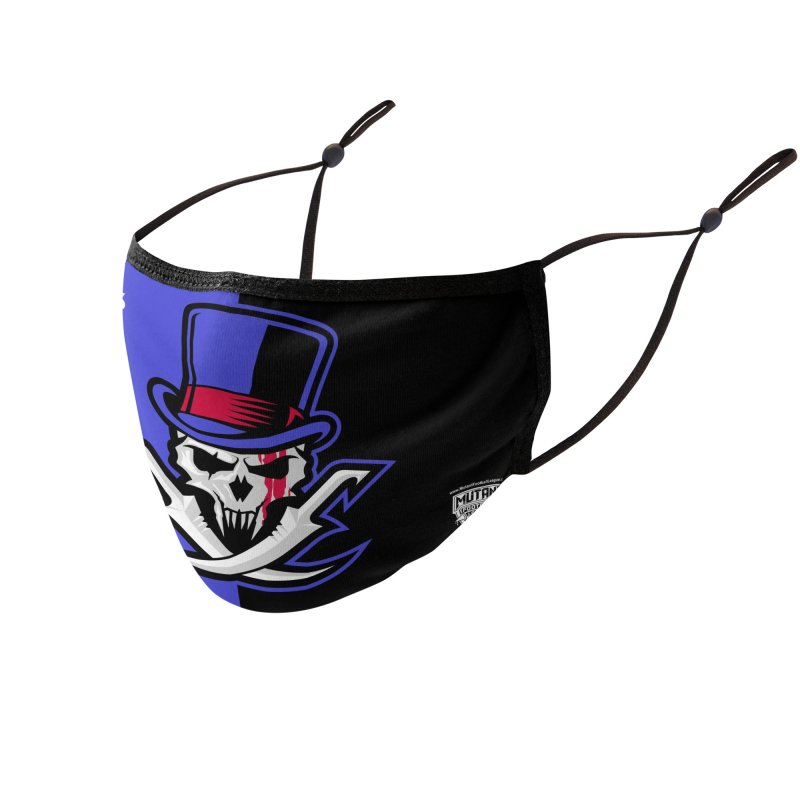 MFL Brawltimore Razors logo Accessories Face Mask by Mutant Football League Team Store