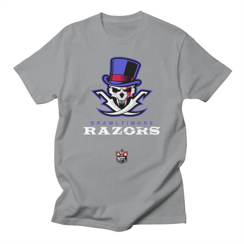 MFL Brawltimore Razors logo Women's T-Shirt by Mutant Football League Team Store