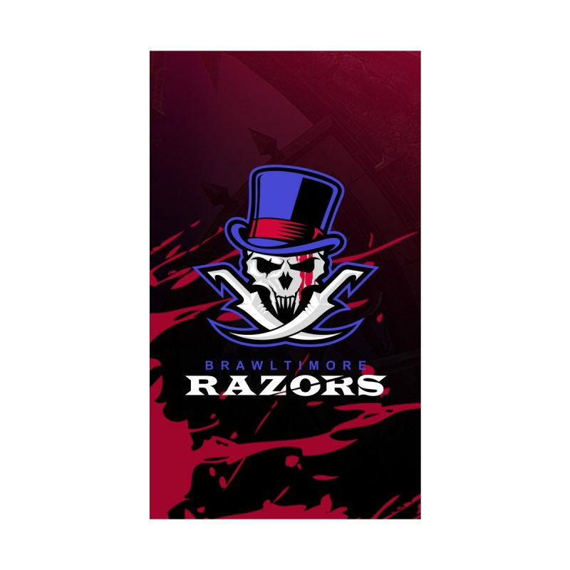 MFL Brawltimore Razors phone case by Mutant Football League Team Store