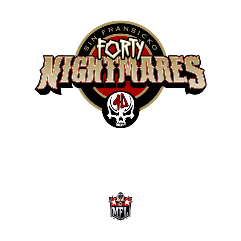 MFL Sin Fransicko Forty Nightmares logo by Mutant Football League Team Store