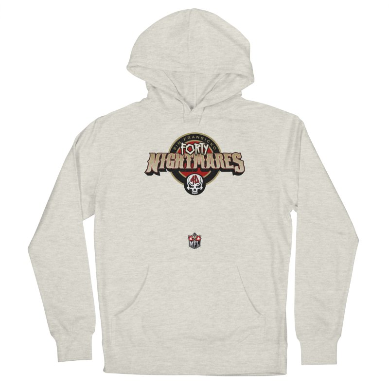 MFL Sin Fransicko Forty Nightmares logo Men's Pullover Hoody by Mutant Football League Team Store